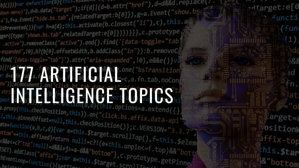 177 Out-of-the-World Artificial Intelligence Topics